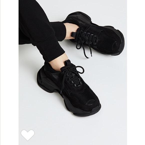 Jeffrey Campbell Lofi Black Sneakers